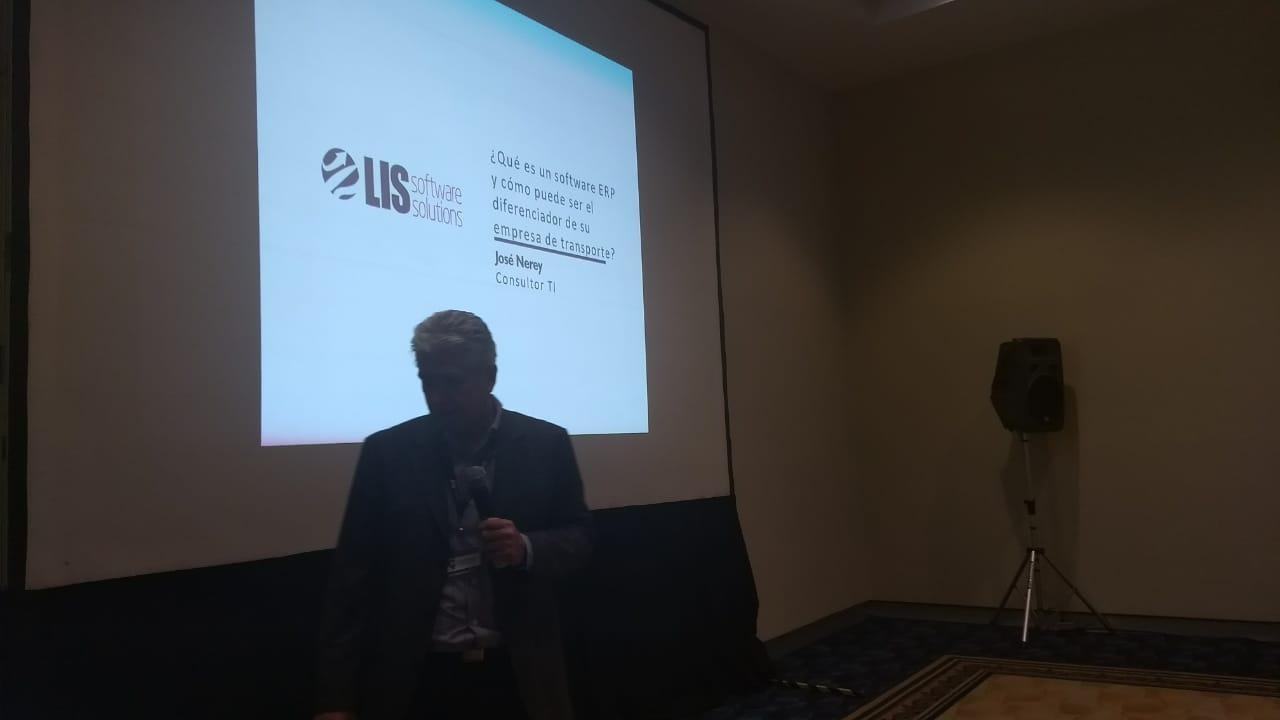 José Nerey, Representante Comercial de LIS Software Solutions